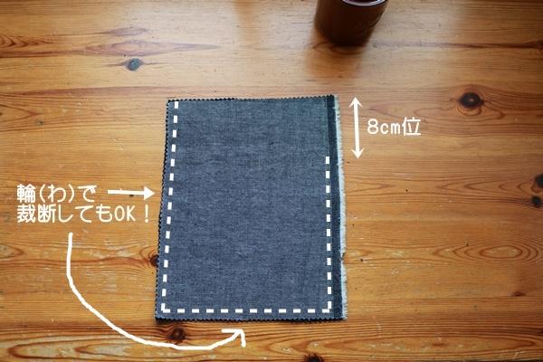 巾着袋 簡単 作り方