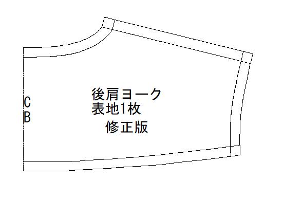 シャツ 型紙