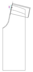 サロペット 型紙