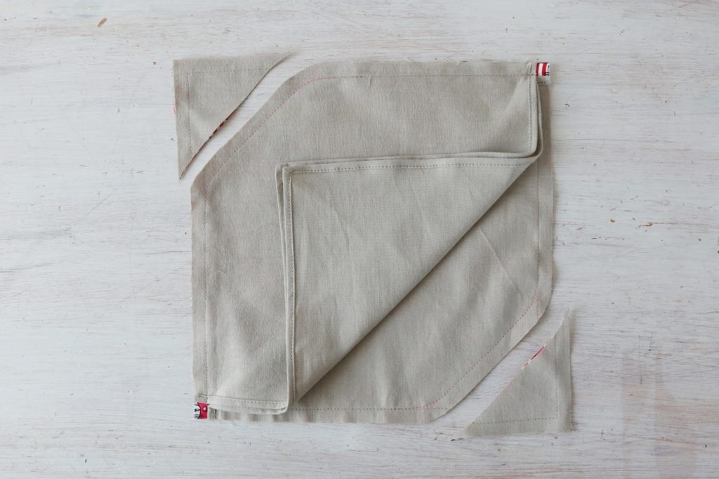 あずま 袋 型紙
