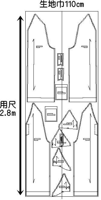 型紙 用尺